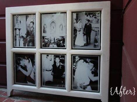 diy window picture frame - Windowpane Picture Frame