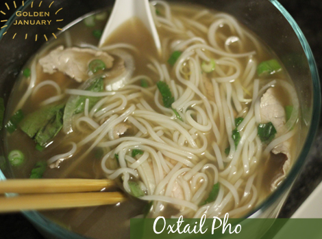 Vietnamese Oxtail Beef Pho Recipe