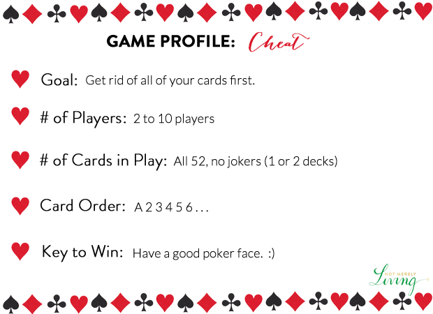 bluff card game rules