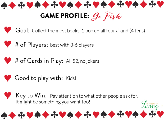 52 Card Games Project Go Fish