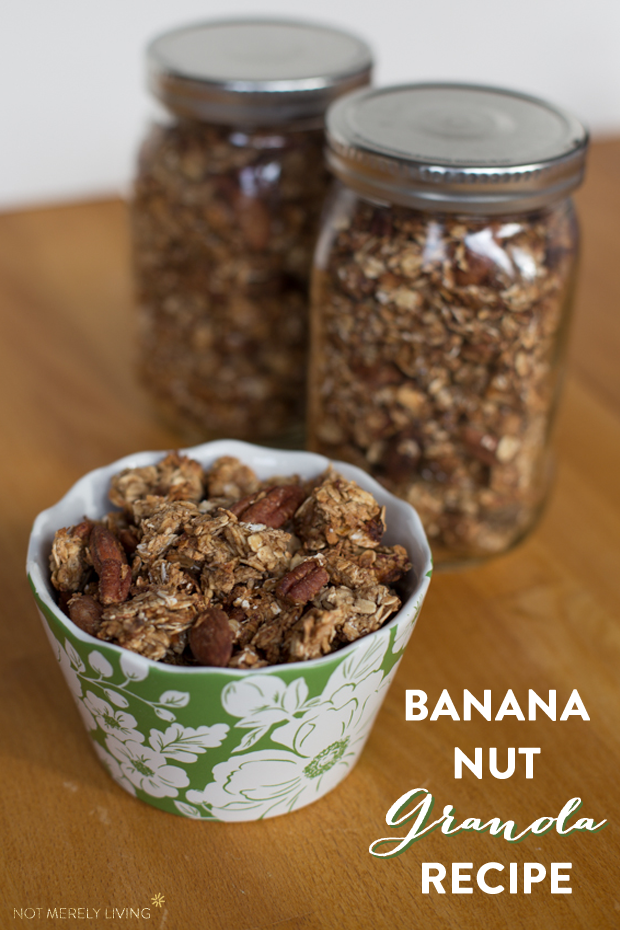Banana Nut Granola Recipe