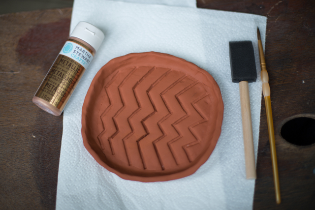 DIY Copper Wine Bottle Coaster