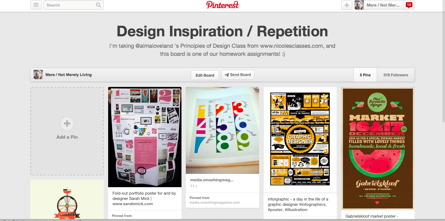 design inspiration repetition
