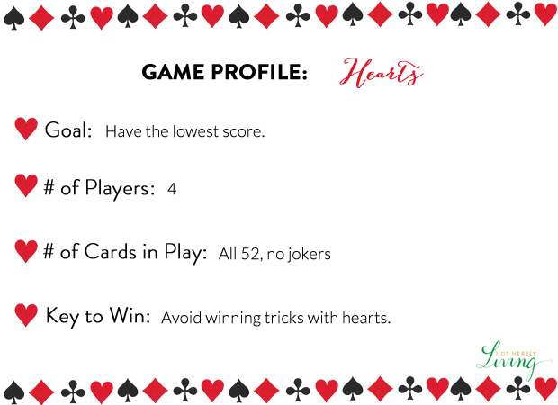 14 52 Card Games Hearts